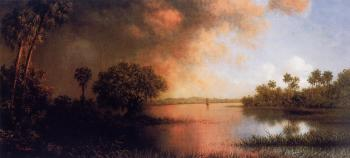 Martin Johnson Heade : Florida River Scene