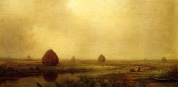 Martin Johnson Heade : Jersey Marshes