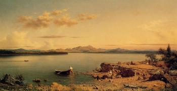 Martin Johnson Heade : Lake George II