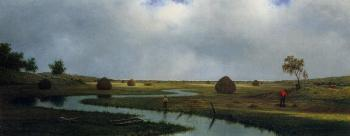 Martin Johnson Heade : Marshfield Meadows