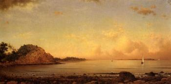 Martin Johnson Heade : Spouting Rock, Newport