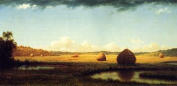 Martin Johnson Heade : Summer Showers