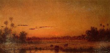 Martin Johnson Heade : Sunset