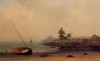 Martin Johnson Heade : The Stranded Boat II