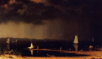 Martin Johnson Heade : Thunder Storm on Narragansett Bay II