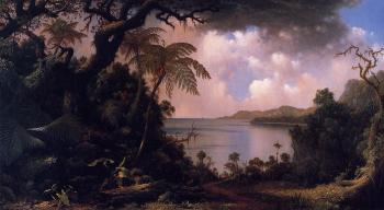Martin Johnson Heade : View from Fern-Tree Walk, Jamaica