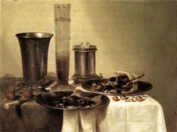 Willem Claesz Heda : Breakfast Still-Life