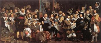 Bartholomeus Van Der Helst : Celebration of the Peace of Munster