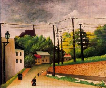 Henri Rousseau : View of Malakoff