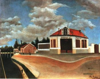 Henri Rousseau : Chair Factory