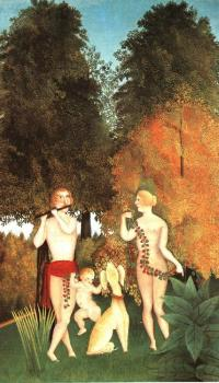 Henri Rousseau : Happy Quartet