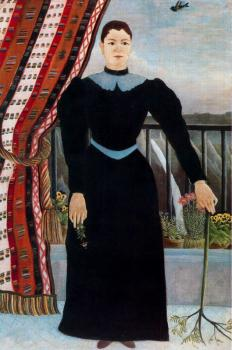 Henri Rousseau : Portrait of a Woman