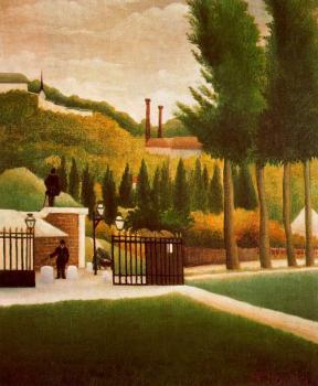 Henri Rousseau : Toll Station