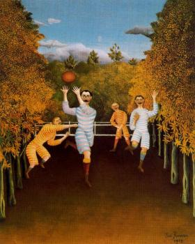 Henri Rousseau : The Football Players