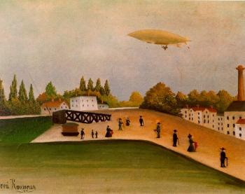 Henri Rousseau : View of the Quai DOvry