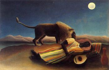 Henri Rousseau : The Sleeping Gypsy