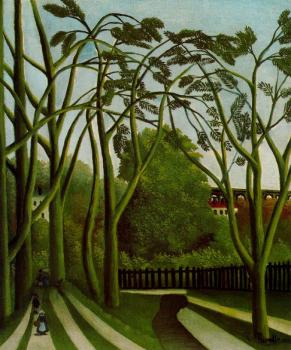 Henri Rousseau : Spring in the Bievre Valley