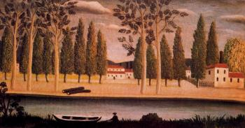 Henri Rousseau : River Bank