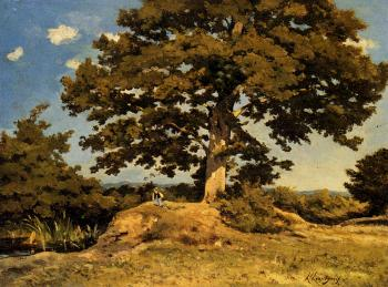 Henri-Joseph Harpignies : The Big Tree