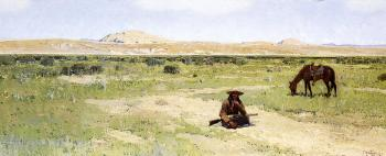Henry Farny : A Rest in the Desert