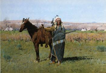 Henry Farny : Chief Spotted Tail