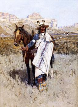 Henry Farny : Indian Scout