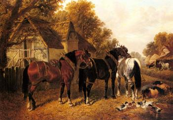 John Frederick Jr Herring : An English Homestead