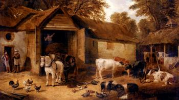 John Frederick Jr Herring : The Farmyard