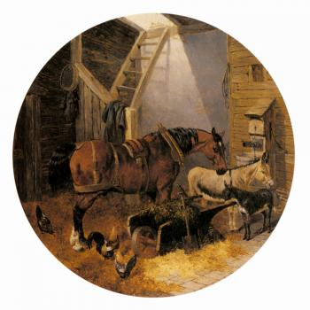 John Frederick Jr Herring : The Farmyard III