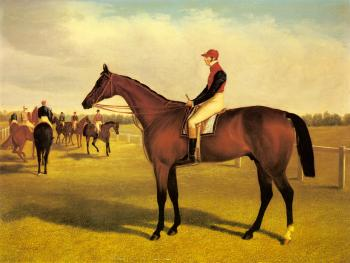 John Frederick Jr Herring : Don John, The Winner of the St. Leger with William Scott Up