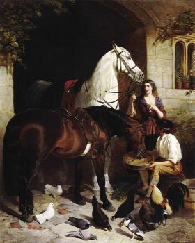 John Frederick Jr Herring : Feeding the Arab