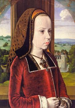 Jean Hey : Portrait of Margaret of Austria