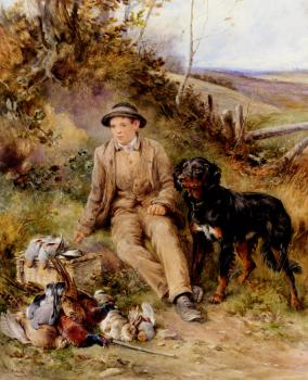 Heywood Hardy : Hardy James Jnr The Keepers Boy