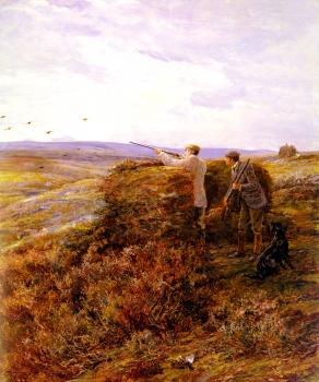 Heywood Hardy : The Grouse Shoot