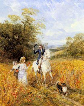 Heywood Hardy : The Morning Ride
