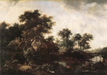 Meyndert Hobbema : The Watermill 1