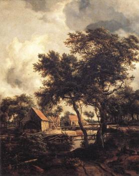 Meyndert Hobbema : The Watermill 2