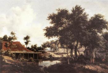 Meyndert Hobbema : The Watermill 3