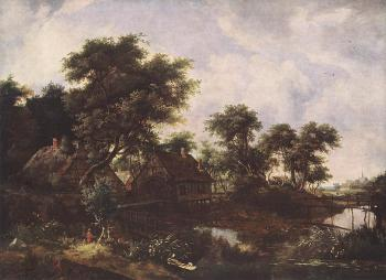 Meyndert Hobbema : The Watermill 4