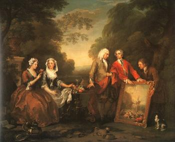 William Hogarth : The Fountaine Family