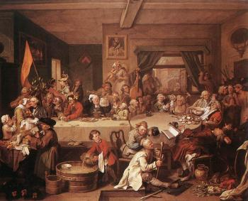 William Hogarth : An Election Entertainment