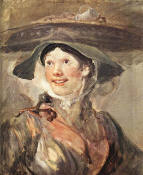 William Hogarth : The Shrimp Girl