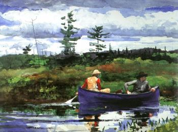 Winslow Homer : The Blue Boat