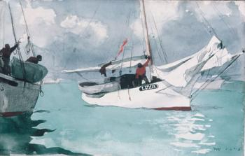 Winslow Homer : Fishing Boats Key West