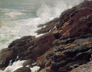 High Cliff Coast of Maine