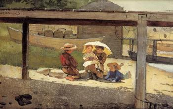 Winslow Homer : In Charge of Baby