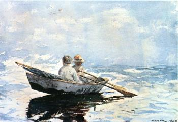 Winslow Homer : Rowboat