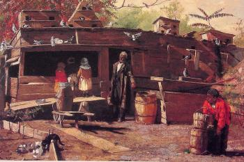 Winslow Homer : Uncle Ned at Home