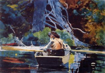 Winslow Homer : The Adirondack Guide