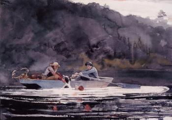 Winslow Homer : The End of the Hunt